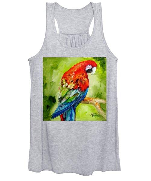 Macaw Tropical Women's Tank Top