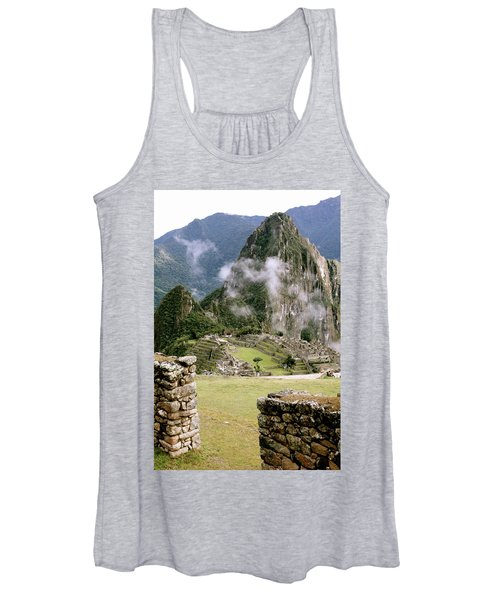 Machu Picchu In The Morning Light Women's Tank Top