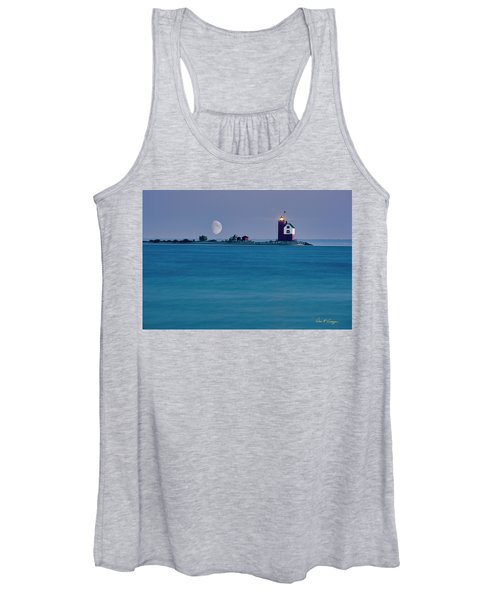 Mackinac Moon Women's Tank Top
