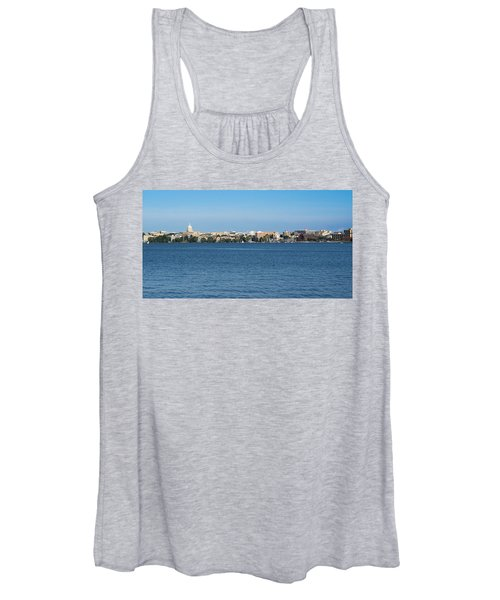 Madison Skyline From Picnic Point Women's Tank Top