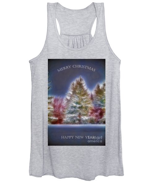 Merrry Christmas And Happy New Year Women's Tank Top