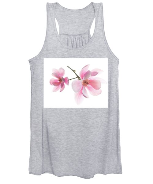 Magnolia Is The Harbinger Of Spring. Women's Tank Top