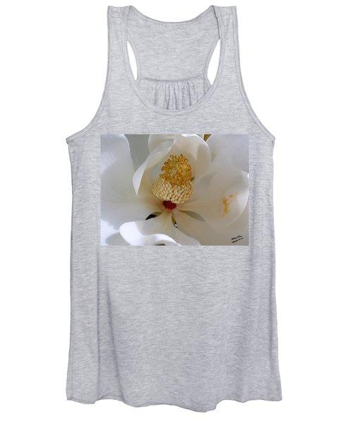 Magnolia Happiness Women's Tank Top