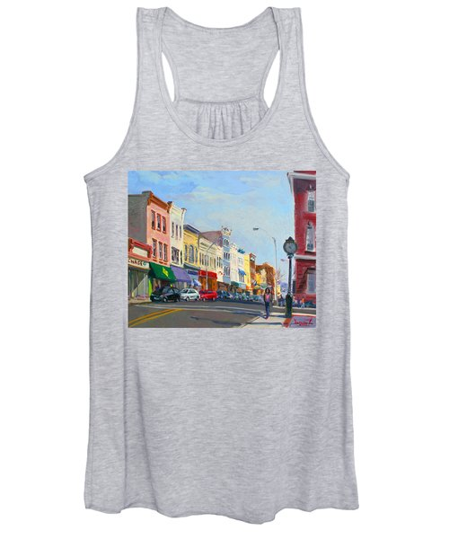 Main Street Nayck  Ny  Women's Tank Top