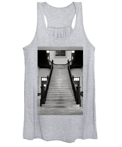 Maine Capitol West Wing Staircase Women's Tank Top
