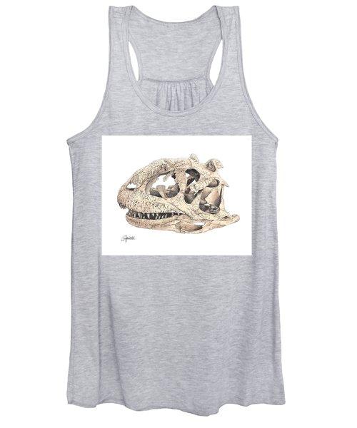 Majungasaur Skull Women's Tank Top