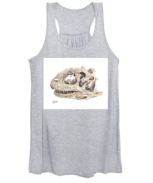 Majungasaur Skull Women's Tank Top
