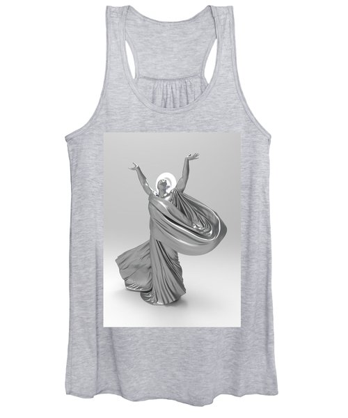 Male Lamp Number Eighteen Women's Tank Top