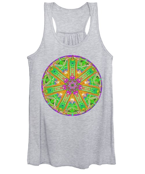 Mandala 12 27 2015 Kings And Priests Women's Tank Top