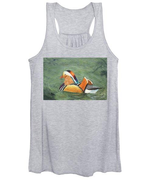 Mandarin Duck Women's Tank Top