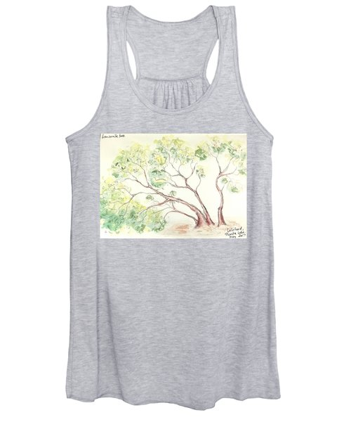 Manzanita Tree Women's Tank Top