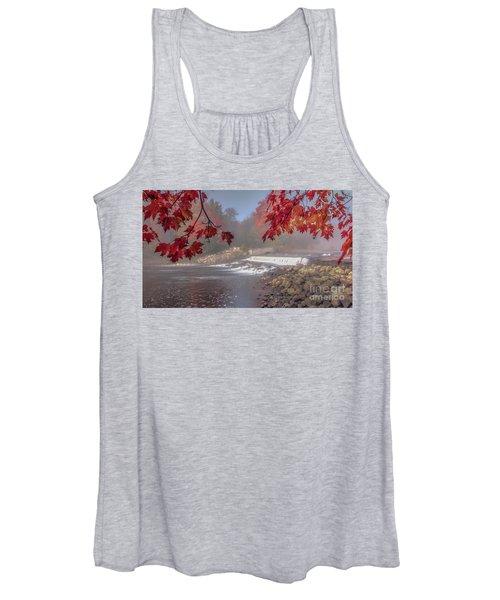 Maple Leaf Frame Ws Women's Tank Top