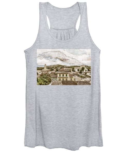 Mapping Trinidad Women's Tank Top