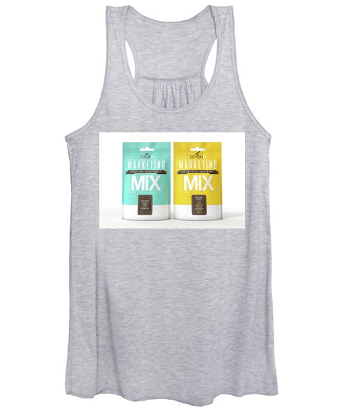 Marketing Mix 4 And 7 P's Women's Tank Top
