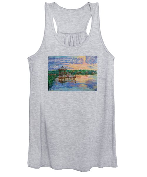 Marsh View At Pawleys Island Women's Tank Top