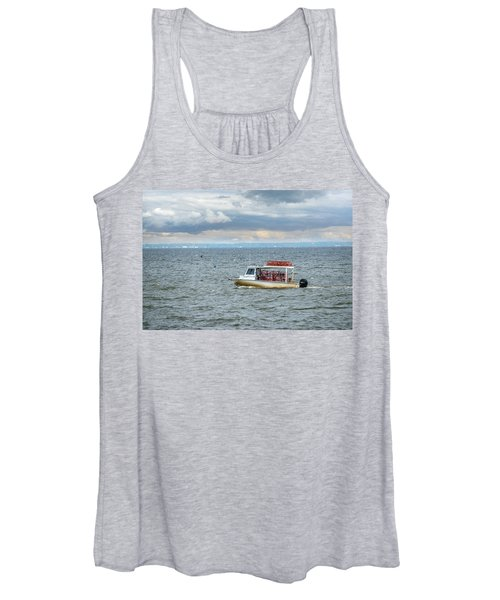Maryland Crab Boat Fishing On The Chesapeake Bay Women's Tank Top