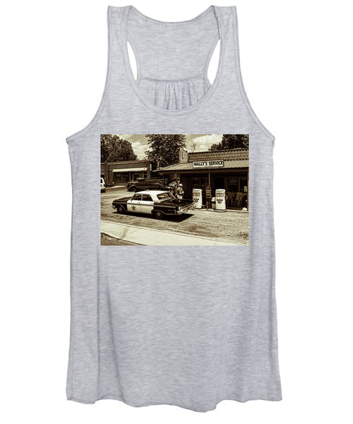 Automobile History Women's Tank Top