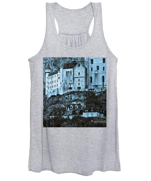 Medieval Castle In The Pilgrimage Town Of Rocamadour Women's Tank Top