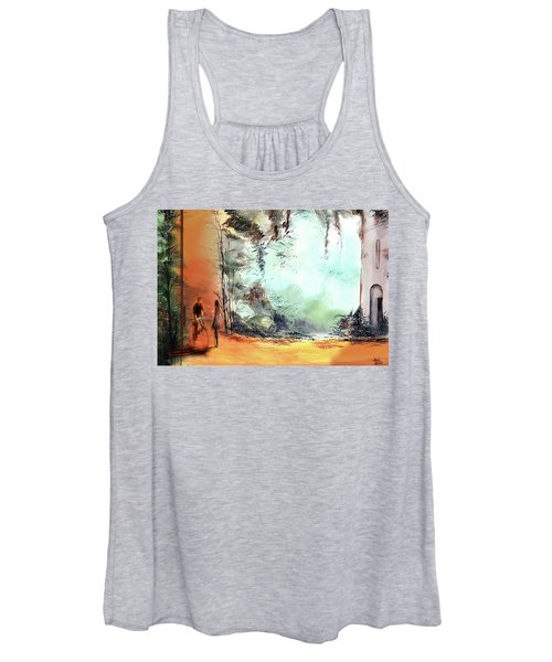 Meeting On A Date Women's Tank Top