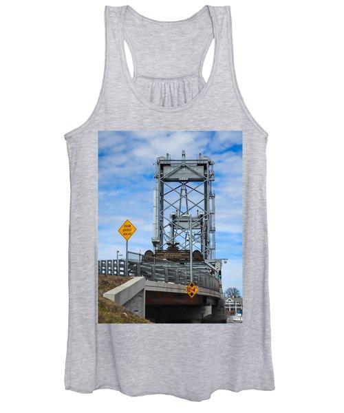 Memorial Bridge Portsmouth  Nh Women's Tank Top