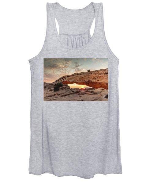 Mesa Arch At Sunrise Women's Tank Top