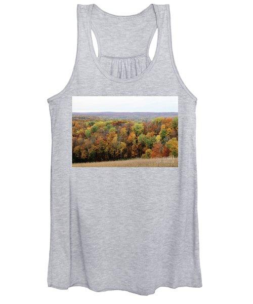 Michigan Autumn Women's Tank Top