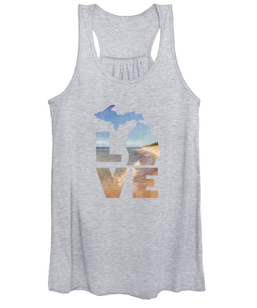 Michigan Love Women's Tank Top