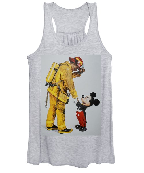 Mickey And The Bravest Women's Tank Top