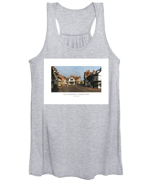 Middle Row East Grinstead Women's Tank Top