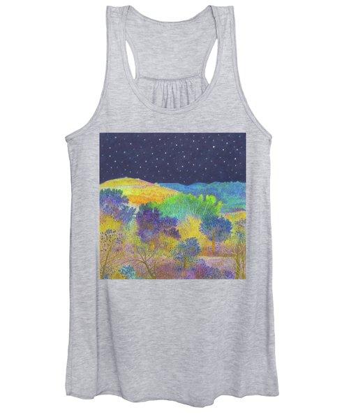 Midnight Trees Dream Women's Tank Top