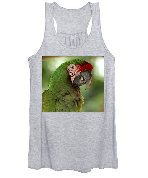 Military Macaw Women's Tank Top