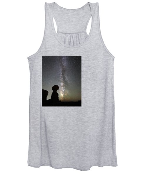 Milky Way Over Arches Np Three Women's Tank Top