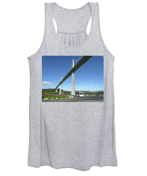 Millau Viaduct Women's Tank Top