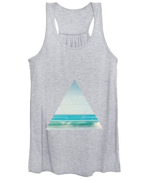 Minimal Wave Women's Tank Top