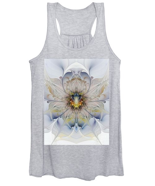 Mirrored Blossom Women's Tank Top