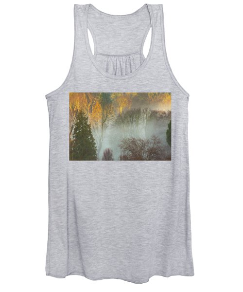 Mist In The Park Women's Tank Top