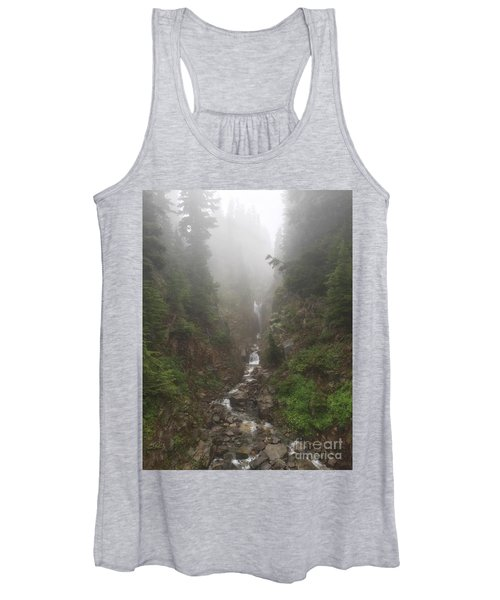Misted Waterfall Women's Tank Top
