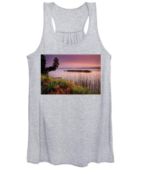 Misty Sunrise Women's Tank Top