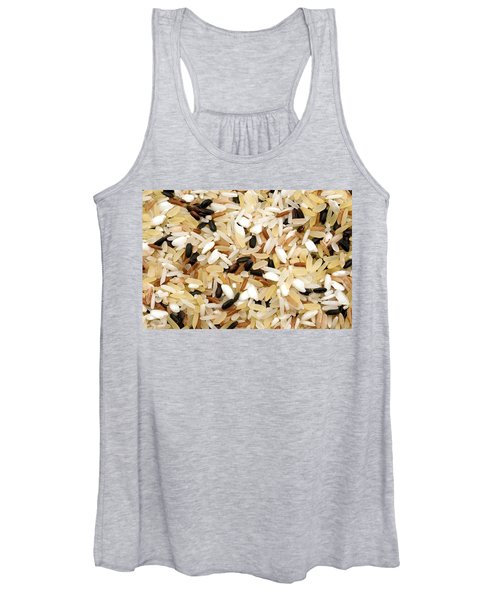 Mixed Rice Women's Tank Top