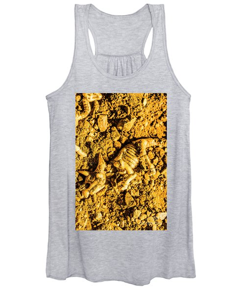 Modelling A Triceratops Fossilised Recovery Women's Tank Top
