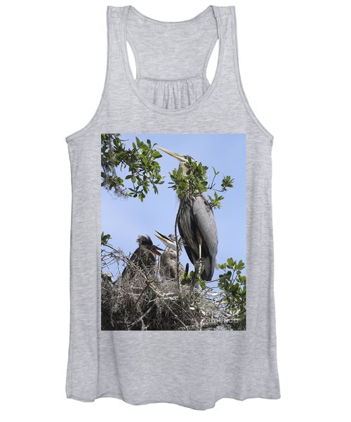 Mom And Babies Women's Tank Top