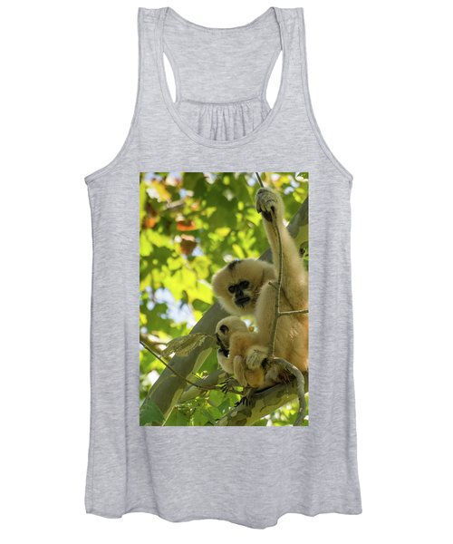 Mommy Gibbon Women's Tank Top