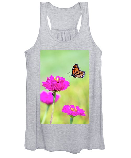 Monarch In Flight 1 Women's Tank Top