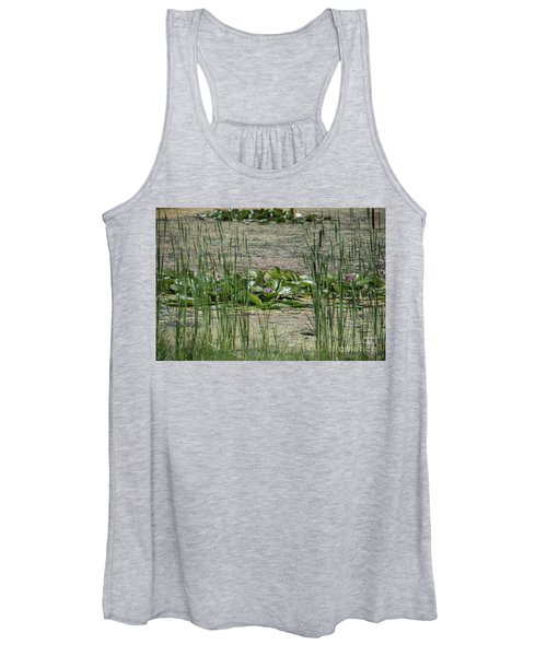 Monet At Giverny - 3 Women's Tank Top