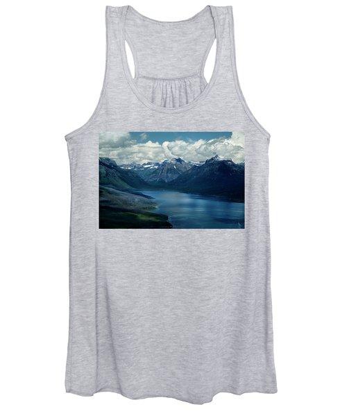 Montana Mountain Vista And Lake Women's Tank Top