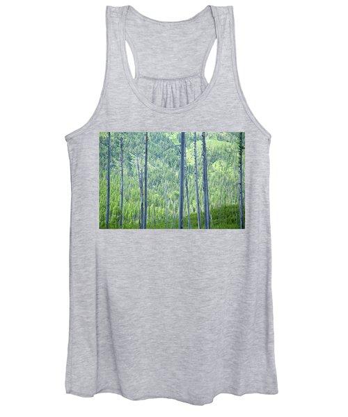 Montana Trees Women's Tank Top