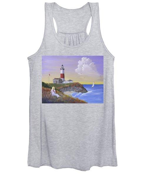Montauk Lighthouse Women's Tank Top