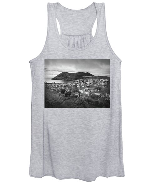 Monte Brasil And Angra Do Heroismo, Terceira Island, Azores Women's Tank Top