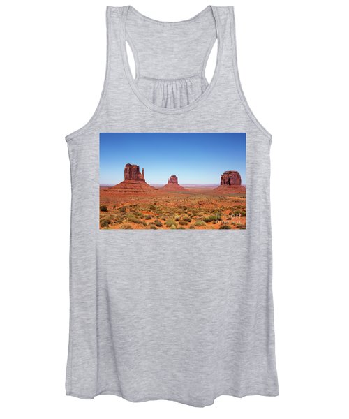 Monument Valley Utah The Mittens Women's Tank Top