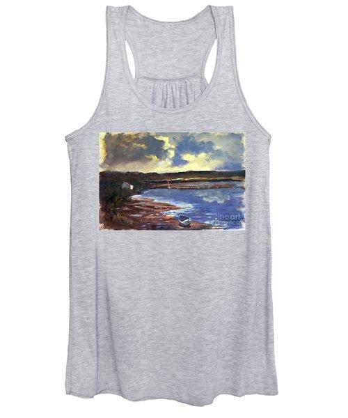 Moonlit Beach Women's Tank Top